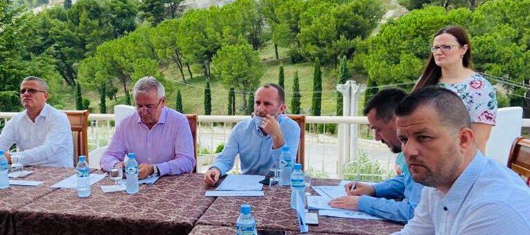 Këshilli i qarkut mbledhje në zona turistike, nisma për promovimin e turizmit