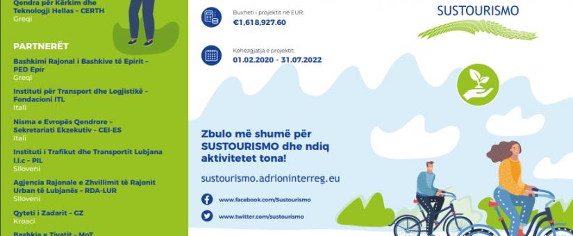 Projekti SUSTOURISMO: Tryezë e Rrumbullakët me Ekspertë të Turizmit dhe Transportit